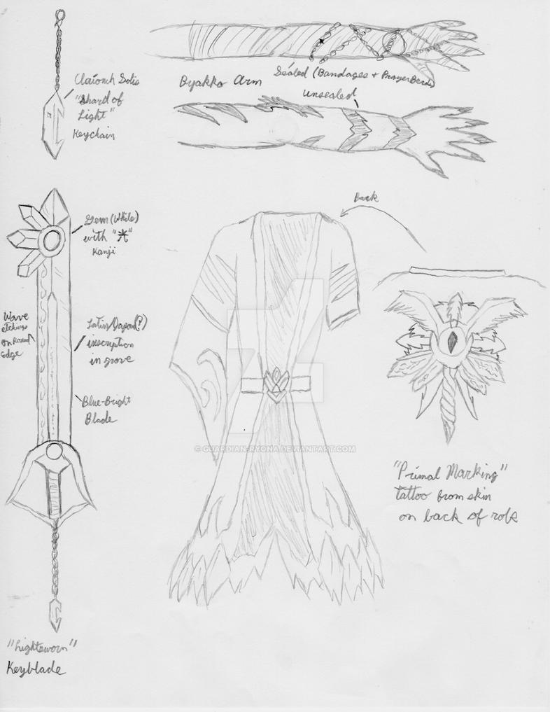 BAW - Keyblade Set - Part 1 by Guardian-Ryona