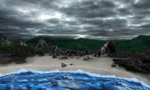 Coast of Rynx - Bionicle Derelicts