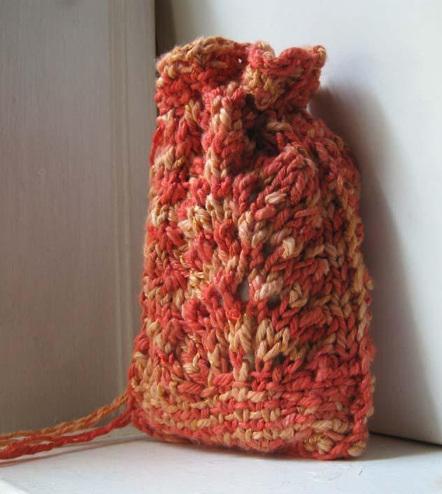 Knit Pattern Tarot Bag : The Sun knit tarot bag by Moonthrall on deviantART