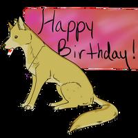 Happy [early] birthday! :D