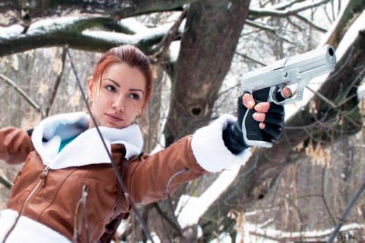 Lara Croft. Tomb Raider II.