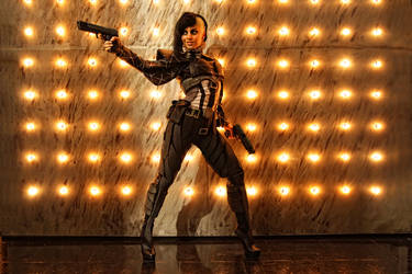 Deus Ex: Yelena Fedorova by Elen-Mart