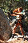 Tomb Raider: Legend. Guns