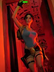 Tomb Raider: The Last Revelation.Through the tombs