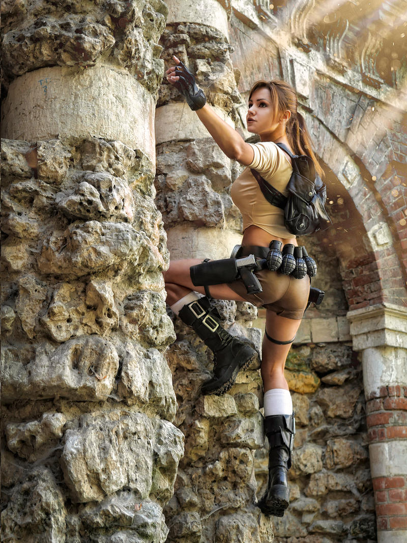 The Hard Work of a Tomb Raider