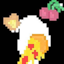 PIxel food pack by RubyTheUnicorn