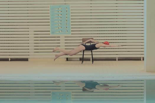 in swimming pool 3