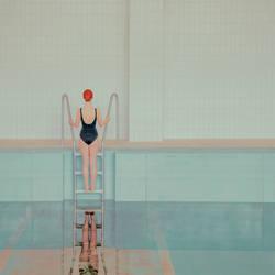 swimming by mariasvarbova