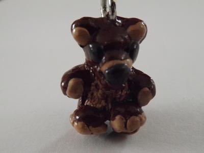 Teddy bear charm by 5minalone