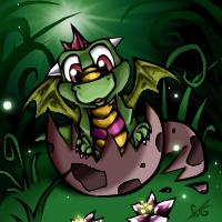 Scaladon the Earth Western Dragon by Dragongirl269