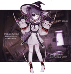 [CLOSED] Marionette witch adoptable