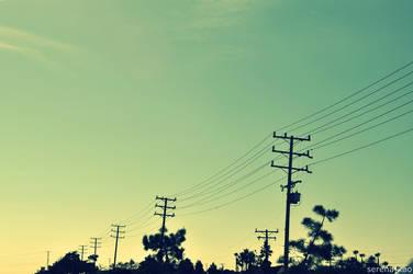 Power Lines I by senasachi