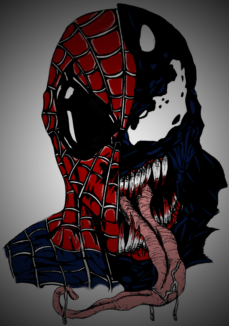 Venom spiderman art - photo#23