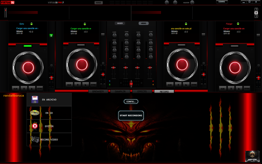 x 24 skin for virtualdj 7 by zanard