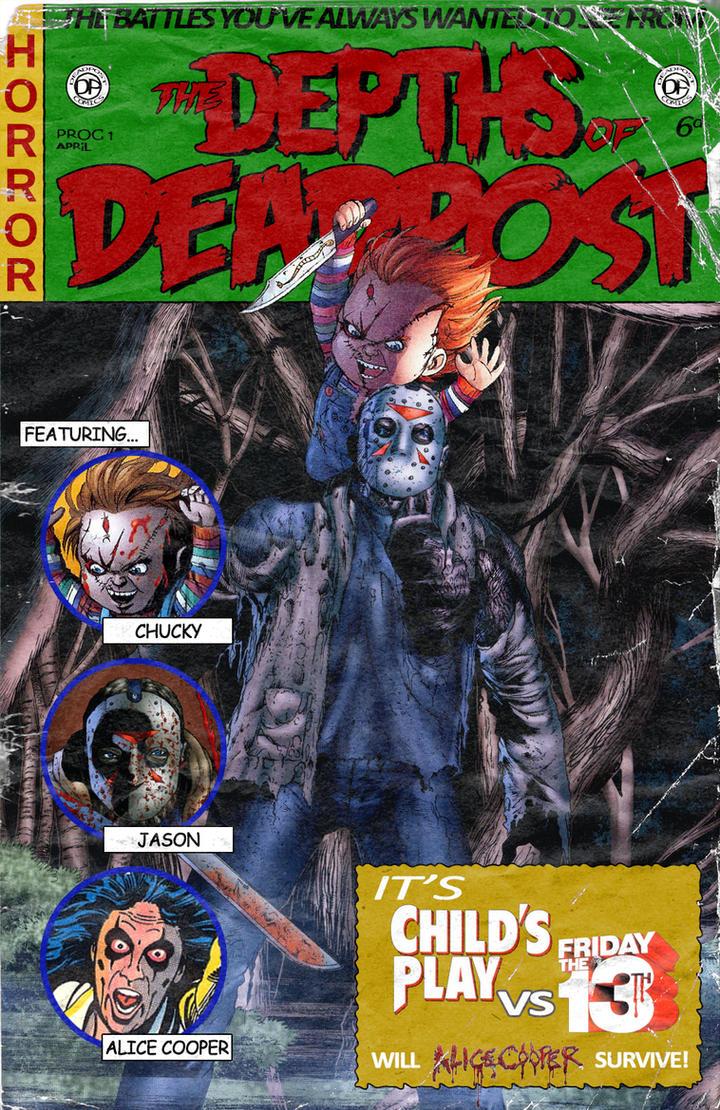 Jason Voorhees vs Chucky by Gambit71 on DeviantArt