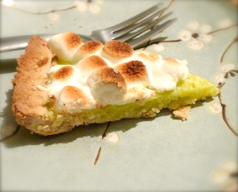 Marshmallow Lime Pie by nfaas