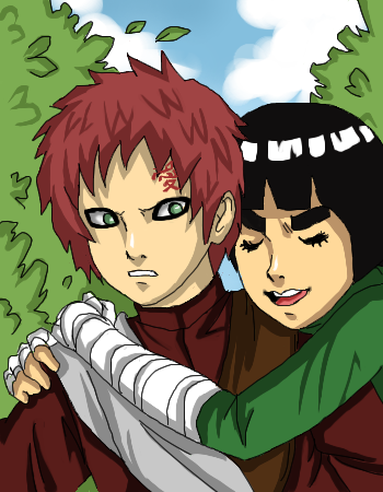 Gaara and Lee by Cocodoo on DeviantArt Gaara And Lee