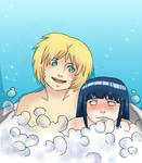 NaruHina in the bath part 1