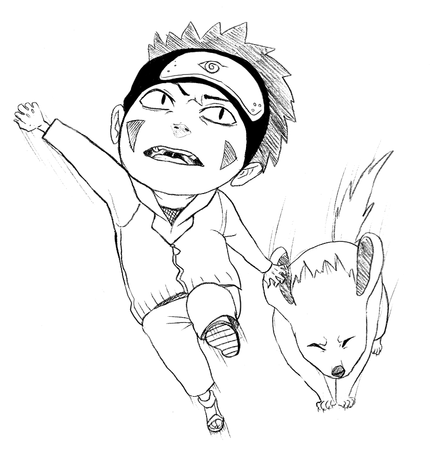 kiba coloring pages - photo#35
