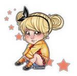 Chibi School Girl