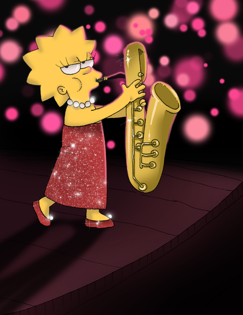 Lisa Simpson by Cocodoo