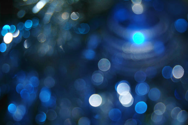 Christmas Bokeh by LuizaLazar