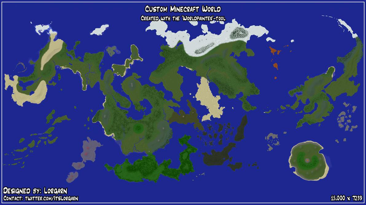 Minecraft worldpainter custom world in game by itslorgarn on minecraft worldpainter custom world in game by itslorgarn publicscrutiny Gallery