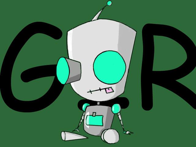 gir robot by invaderzimlover12 on DeviantArt
