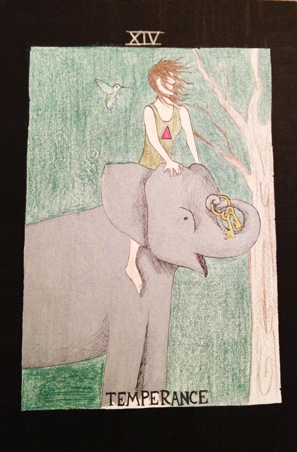 Temperance-Tarot Card by ArtByJulia on DeviantArt