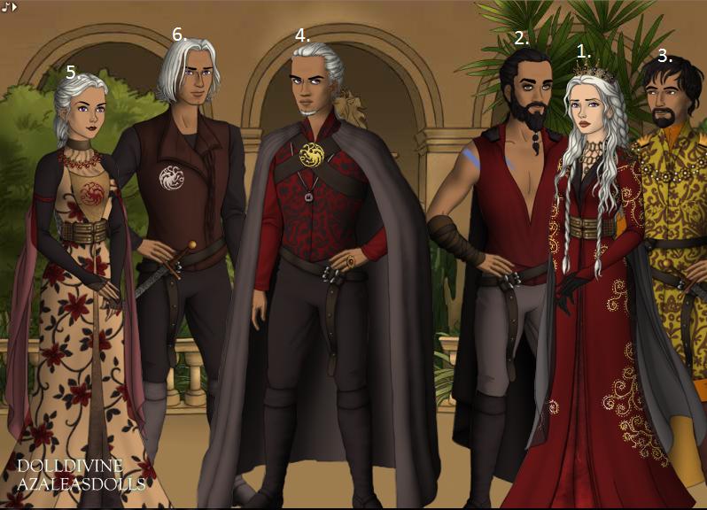 Kết quả hình ảnh cho daenerys and family