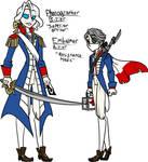 French Revolution fan-skins by MercenaryBuster
