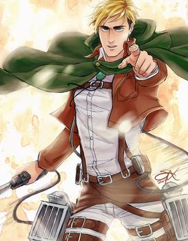 commander handsome