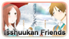 Isshuukan Friends Stamp