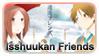 Isshuukan Friends Stamp