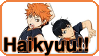 Haikyuu!! - Stamp by Kheila-S