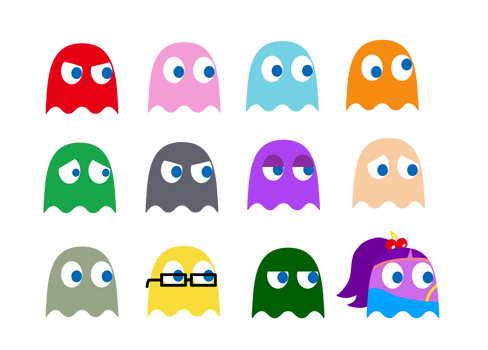 some thingies with the ghosts