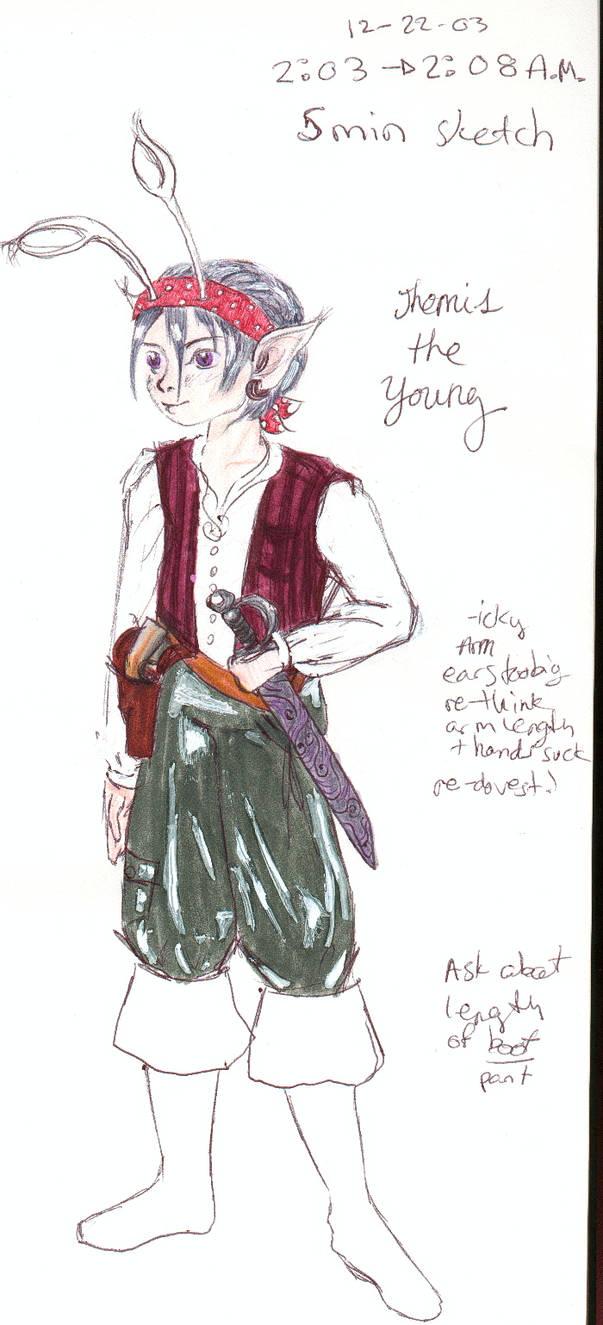 mini anthro pirate aisha lass