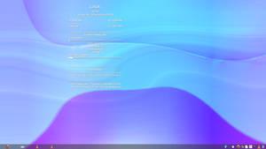 Fluxbox+tint2+conky (Debian Sid screenshot)