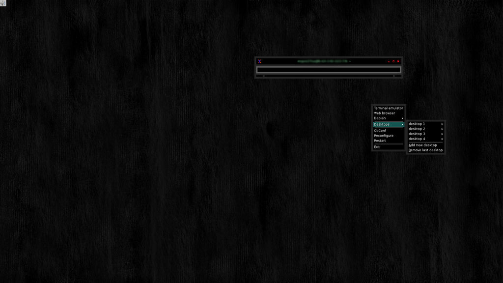 Dark_Exit: an Openbox theme and a wallpaper (GPL)