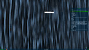 Bluewalls (a fluxbox theme and a wallpaper)
