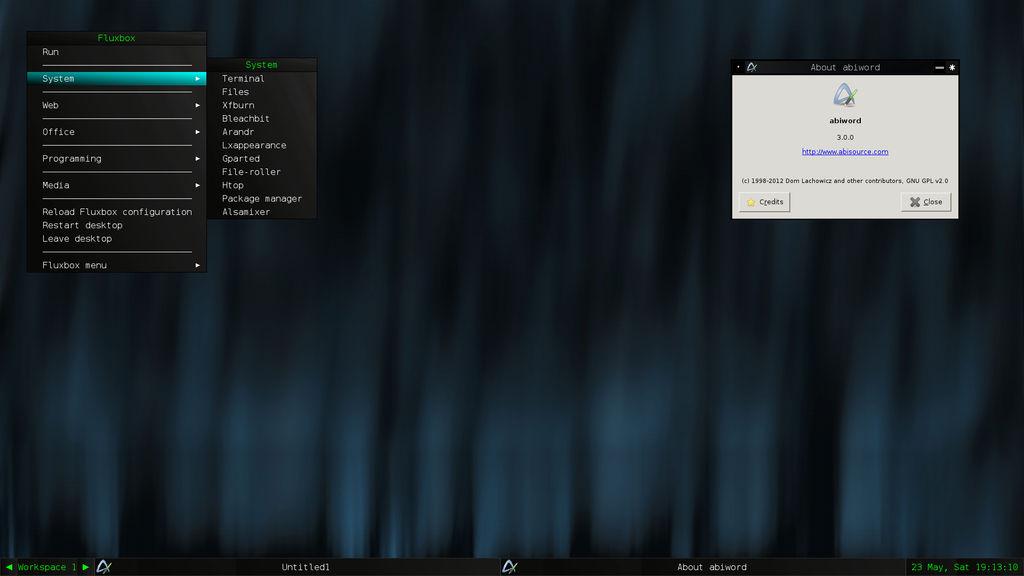 PostX Gnu/Linux 0.2.5 (Was Audax Gnu/Linux)
