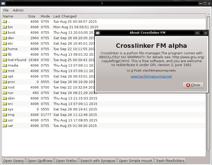Crosslinker FM (screenshot 3) by jjposti1876