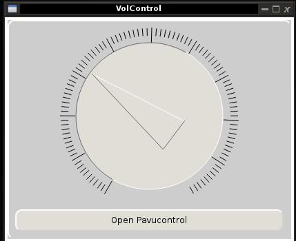 Volcontrol (Pulseaudio)