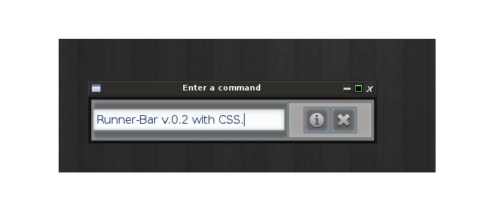 Runner-Bar v.0.2 (with CSS)