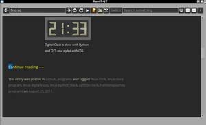 RunIT-QT web browser (0.6)