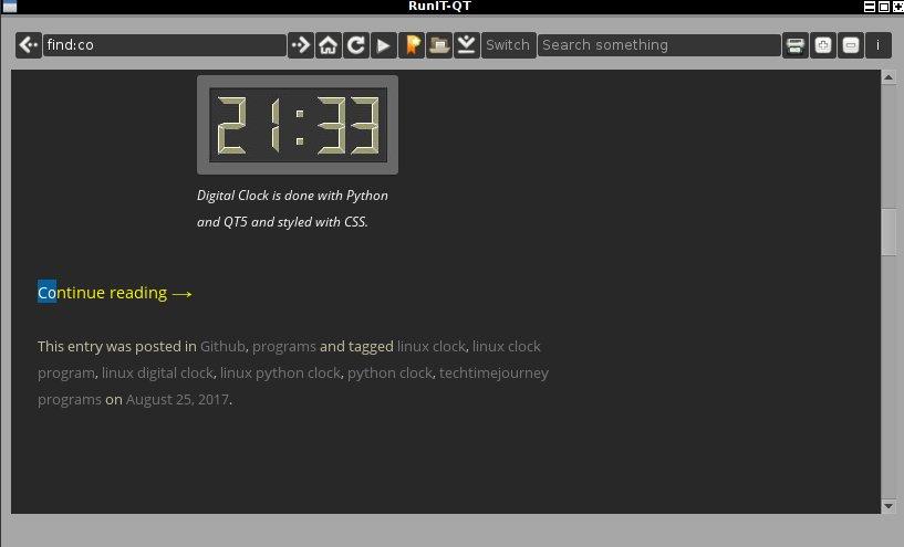 RunIT-QT web browser (0 6) by jjposti1876 on DeviantArt
