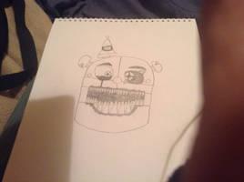 FNAF: Nightmare Ennard (My Design) by Jack-O-Chainoxy