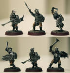 Gundabad Orcs with Swords and Shields