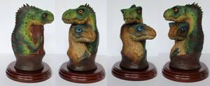 Tyrannosaurus Baby Pair Mini Bust