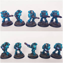 Pre-Heresy alpha Legion Support Squads